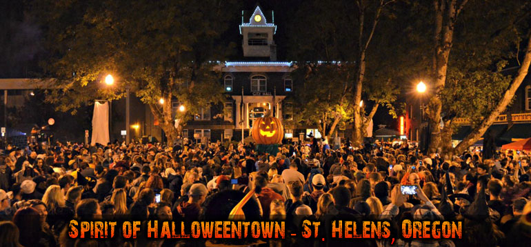 halloween town all month in oregon